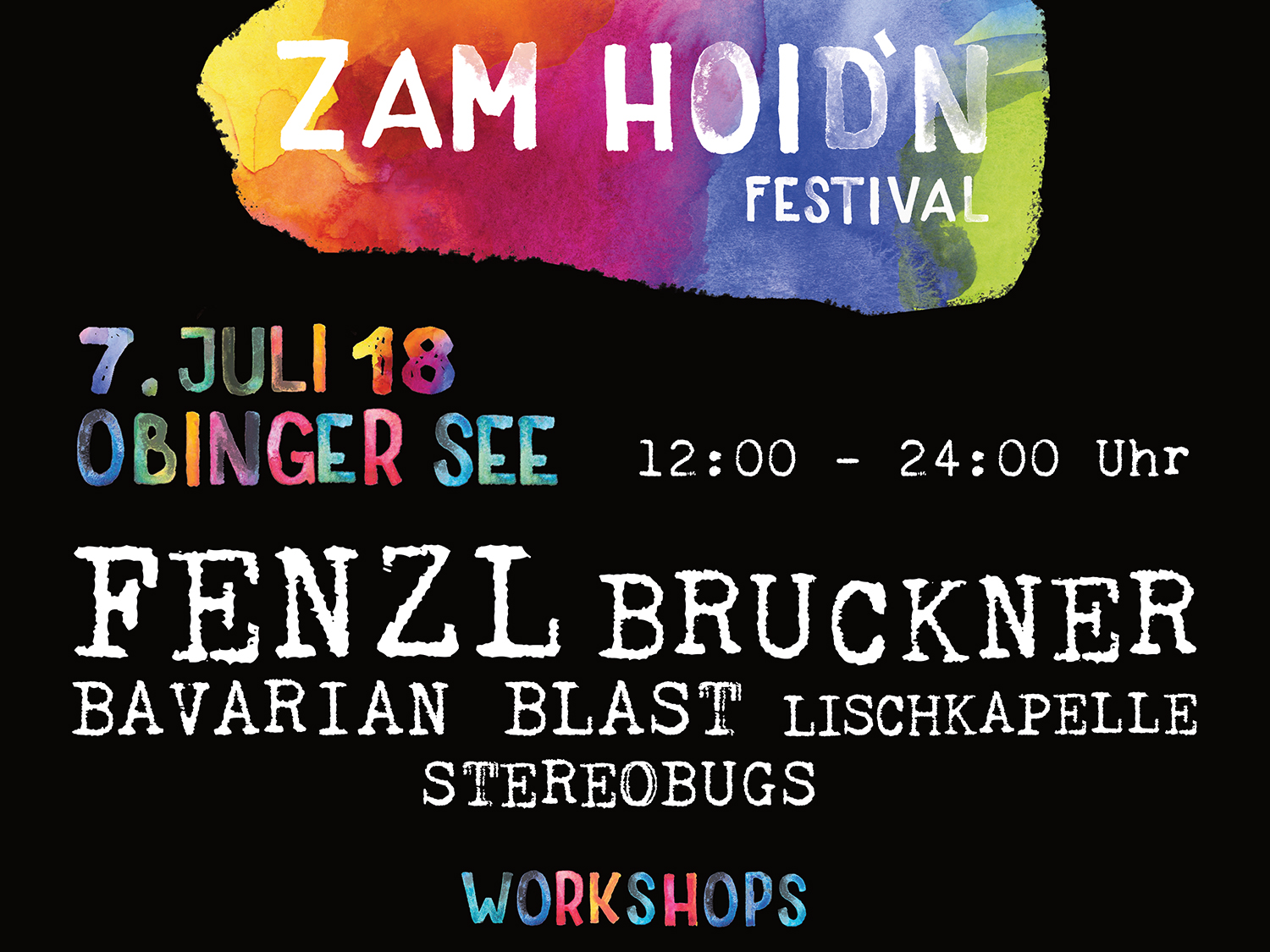Zamhoidn TICKETS